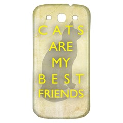 Best Friends Samsung Galaxy S3 S III Classic Hardshell Back Case
