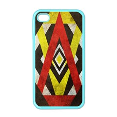 Sharp Edges Apple Iphone 4 Case (color)