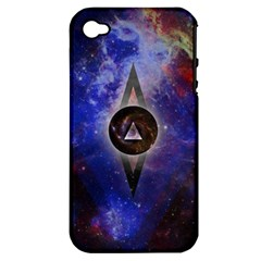 Infinite Space Apple Iphone 4/4s Hardshell Case (pc+silicone)