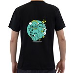 Monsters Mens' Two Sided T-shirt (Black) Back