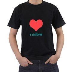 i adore T-Shirt Mens' T-shirt (Black)