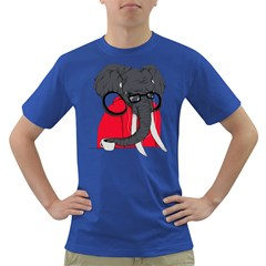 Hipsterphant Mens' T Shirt (colored)