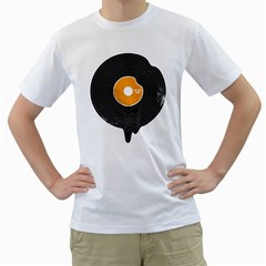 Melting Song Mens  T-shirt (White)