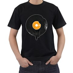 Melting Song Mens' Two Sided T-shirt (Black)