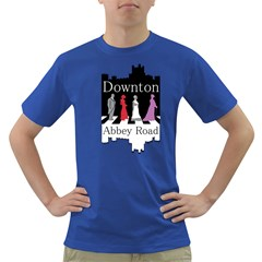 Downton Abbey Road Mens' T Shirt (colored)