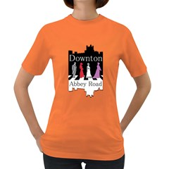 Downton Abbey Road Womens' T-shirt (Colored)