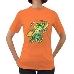 Biking Hopper  Womens' T-shirt (Colored)
