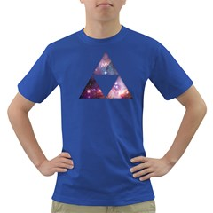 Cosmic Triforce Mens' T-shirt (Colored)