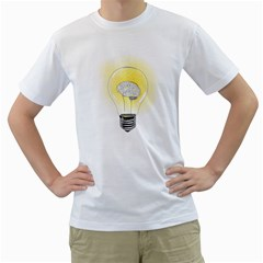 Good Idea! Mens  T-shirt (White)