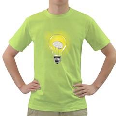 Good Idea! Mens  T-shirt (Green)