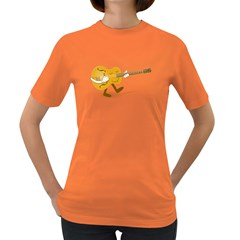 Solo Guitar Womens' T Shirt (colored)
