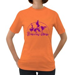 Thebreaking Dead  Womens' T Shirt (colored)