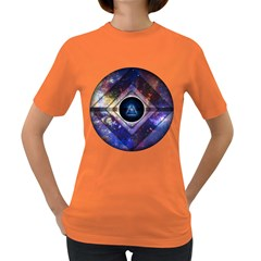 Center of Existence EXPANDED Womens' T-shirt (Colored)