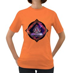 Life, Death, and The Unknown Womens' T-shirt (Colored)