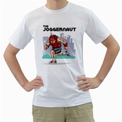 The Joggernaut White T-Shirt