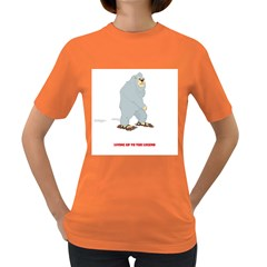 Not that big after all Womens' T-shirt (Colored)