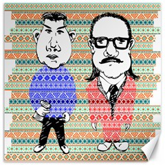 The Cheeky Buddies Canvas 20  X 20  (unframed)