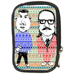 The Cheeky Buddies Compact Camera Leather Case