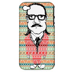 The Cheeky Buddies Apple iPhone 4/4S Hardshell Case (PC+Silicone)