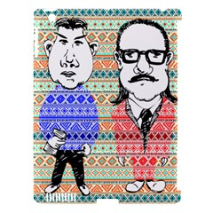 The Cheeky Buddies Apple iPad 3/4 Hardshell Case (Compatible with Smart Cover)