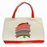 The Princess And The Pea Classic Tote Bag (Red) Front