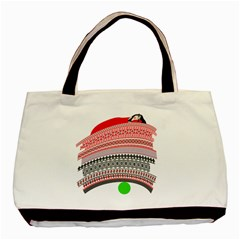 The Princess And The Pea Twin-sided Black Tote Bag