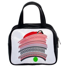 The Princess And The Pea Classic Handbag (Two Sides)