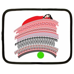The Princess And The Pea Netbook Sleeve (Large)