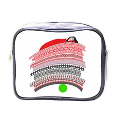The Princess And The Pea Mini Travel Toiletry Bag (one Side)