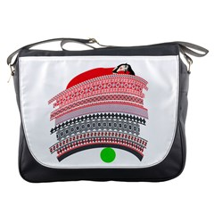 The Princess And The Pea Messenger Bag