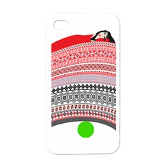 The Princess And The Pea Apple iPhone 4 Case (White)