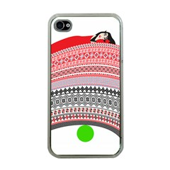 The Princess And The Pea Apple Iphone 4 Case (clear)
