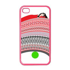 The Princess And The Pea Apple iPhone 4 Case (Color)