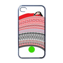 The Princess And The Pea Apple Iphone 4 Case (black)