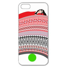 The Princess And The Pea Apple Seamless Iphone 5 Case (clear)