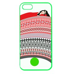 The Princess And The Pea Apple Seamless iPhone 5 Case (Color)