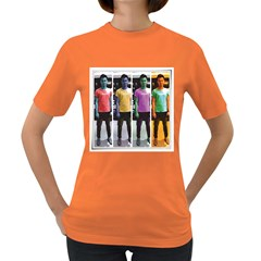 Man Of Color Womens' T Shirt (colored)