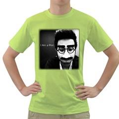 I Am a Mac Mens  T-shirt (Green)