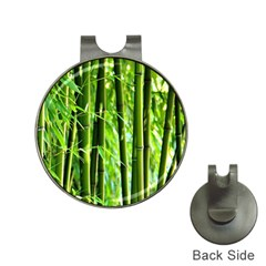 Bamboo Hat Clip With Golf Ball Marker