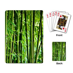 Bamboo Playing Cards Single Design