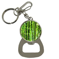 Bamboo Bottle Opener Key Chain
