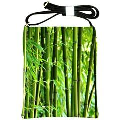 Bamboo Shoulder Sling Bag
