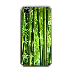 Bamboo Apple Iphone 4 Case (clear)