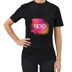 Nero ! Born To Rave! Womens' Two Sided T-shirt (Black)