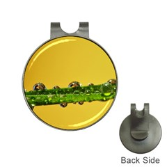Drops Hat Clip With Golf Ball Marker
