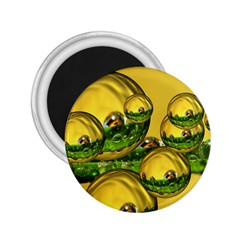 Balls 2.25  Button Magnet