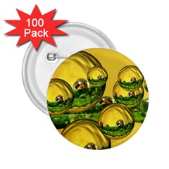Balls 2 25  Button (100 Pack)