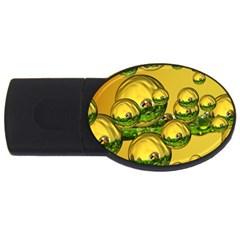 Balls 2gb Usb Flash Drive (oval)