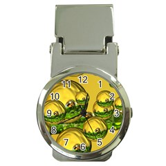 Balls Money Clip With Watch