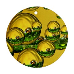 Balls Round Ornament (Two Sides)